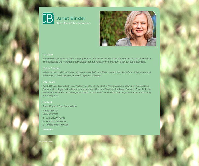 Janet Binder